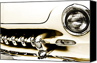 Modified Canvas Prints - 1949 Mercury Canvas Print by Scott Norris