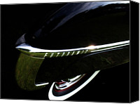 Antique Automobiles Canvas Prints - 1950 Oldsmobile Futuramic 88 - Rocket Launcher Canvas Print by Steven  Digman
