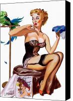 1950s pin up art