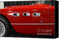 Import Cars Canvas Prints - 1953 250MM Ferrari . Red . 7D9146 Canvas Print by Wingsdomain Art and Photography