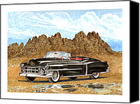 Southern Rocky Mountains Canvas Prints - 1953 Cadillac ElDorado Biarritz Canvas Print by Jack Pumphrey
