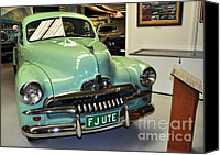 Kaye Menner Car Canvas Prints - 1953 FJ Holden Ute Canvas Print by Kaye Menner