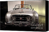 British Car Canvas Prints - 1953 Nash-Healey - 7D17219 Canvas Print by Wingsdomain Art and Photography