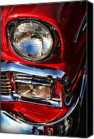 Dean Canvas Prints - 1956 Chevrolet Bel Air Canvas Print by Gordon Dean II