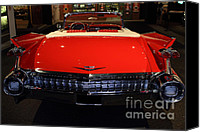 Convertibles Canvas Prints - 1959 Cadillac Convertible - 7D17377 Canvas Print by Wingsdomain Art and Photography