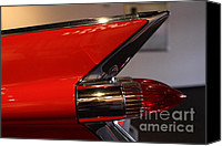 Convertibles Canvas Prints - 1959 Cadillac Convertible - 7D17386 Canvas Print by Wingsdomain Art and Photography
