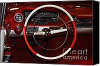 Convertibles Canvas Prints - 1959 Cadillac Convertible - 7D17387 Canvas Print by Wingsdomain Art and Photography