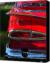 Bumpers Canvas Prints - 1959 Chevy El Comino  Canvas Print by Peter Piatt