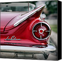 Dean Canvas Prints - 1960 Buick LeSabre Canvas Print by Gordon Dean II