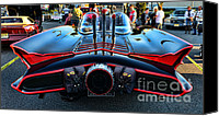 Dark Knight Canvas Prints - 1960s Batmobile - 1 Canvas Print by Paul Ward