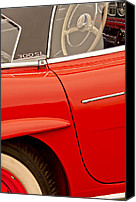 Roadster Canvas Prints - 1962 Mercedes-Benz 300 SL Roadster Canvas Print by Jill Reger