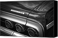 Auction Canvas Prints - 1964 Chevrolet Impala SS Canvas Print by Gordon Dean II