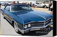 Blue Buick Canvas Prints - 1965 Buick LeSabre . 7D15493 Canvas Print by Wingsdomain Art and Photography