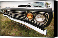 Dean Canvas Prints - 1969 Plymouth Road Runner 440-6 Canvas Print by Gordon Dean II