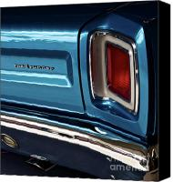 1969 Canvas Prints - 1969 Plymouth Road Runner Canvas Print by Gwyn Newcombe