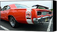 Mango Canvas Prints - 1970 Dodge Super Bee 2 Canvas Print by Paul Ward