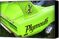 Gifts Digital Art Canvas Prints - 1970 Plymouth Superbird Canvas Print by Gordon Dean II