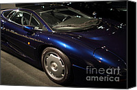 British Car Canvas Prints - 1992 Jaguar XJ220 - 7D17250 Canvas Print by Wingsdomain Art and Photography