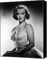 1950s Movies Canvas Prints - All About Eve, Marilyn Monroe, 1950 Canvas Print by Everett