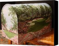 Augusta Golf Painting Canvas Prints - Amen Corner Canvas Print by Jena Gillam
