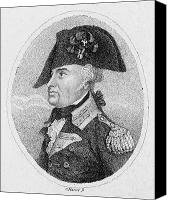 American Revolution Canvas Prints - Anthony Wayne (1745-1796) Canvas Print by Granger