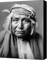 Bandana Canvas Prints - APACHE MAN, c1906 Canvas Print by Granger