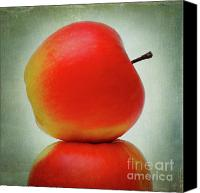 Still Life Digital Art Canvas Prints - Apples Canvas Print by Bernard Jaubert