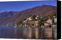 Mountain View Photo Canvas Prints - Ascona Canvas Print by Joana Kruse