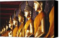 Ancestor Canvas Prints - Bangkok, Wat Suthat Canvas Print by Bill Brennan - Printscapes