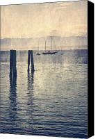 Sail Boat Canvas Prints - Boat Canvas Print by Joana Kruse