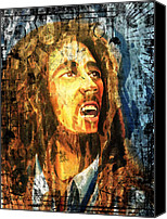 Porridge Canvas Prints - Bob Marley Canvas Print by Biren Biren