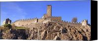 Unesco Canvas Prints - Castelgrande - Bellinzona Canvas Print by Joana Kruse