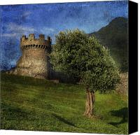 Medieval Canvas Prints - Castle Canvas Print by Joana Kruse