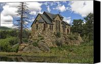 Michael Krahl Canvas Prints - Chapel on the Rock Canvas Print by Michael Krahl