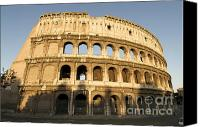 Worth Canvas Prints - Coliseum. Rome Canvas Print by Bernard Jaubert