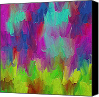 Abstracts Canvas Prints - Dance  Canvas Print by Ely Arsha