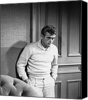 Films By Elia Kazan Canvas Prints - East Of Eden, James Dean, 1955 Canvas Print by Everett