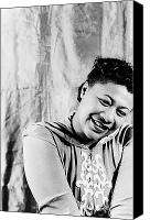 African American Canvas Prints - Ella Fitzgerald (1917-1996) Canvas Print by Granger