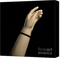 Fingers Photo Canvas Prints - Hand of dummy Canvas Print by Bernard Jaubert