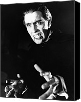 1950s Movies Canvas Prints - Horror Of Dracula, Christopher Lee, 1958 Canvas Print by Everett