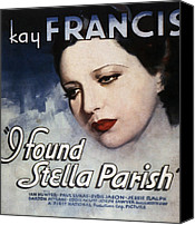 Francis Canvas Prints - I Found Stella Parish, Kay Francis, 1935 Canvas Print by Everett