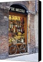 Architectural Detail Canvas Prints - Italian Delicatessen or Macelleria Canvas Print by Jeremy Woodhouse