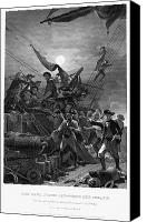 American Revolution Canvas Prints - John Paul Jones (1747-1792) Canvas Print by Granger