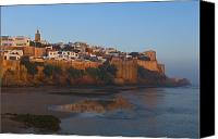 Moroccan Canvas Prints - Kasbah Des Oudaias, Rabat Canvas Print by Axiom Photographic