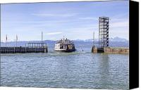 Lake Constance Canvas Prints - Lake Constance Friedrichshafen Canvas Print by Joana Kruse