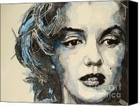 Screen Canvas Prints - Marilyn Canvas Print by Paul Lovering