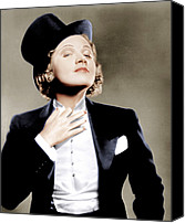 1930s Movies Canvas Prints - Morocco, Marlene Dietrich, 1930 Canvas Print by Everett