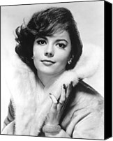 1950s Fashion Canvas Prints - Natalie Wood, 1960s Canvas Print by Everett