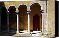 Portal Canvas Prints - Palace arch Canvas Print by Carlos Caetano
