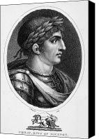 4th Canvas Prints - Philip Ii (382-336 B.c.) Canvas Print by Granger
